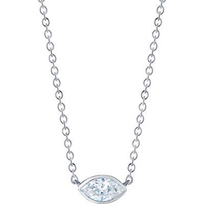 Kwiat Marquise Diamond Pendant Necklace