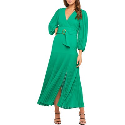 Bardot Daytona Long Sleeve Maxi Dress