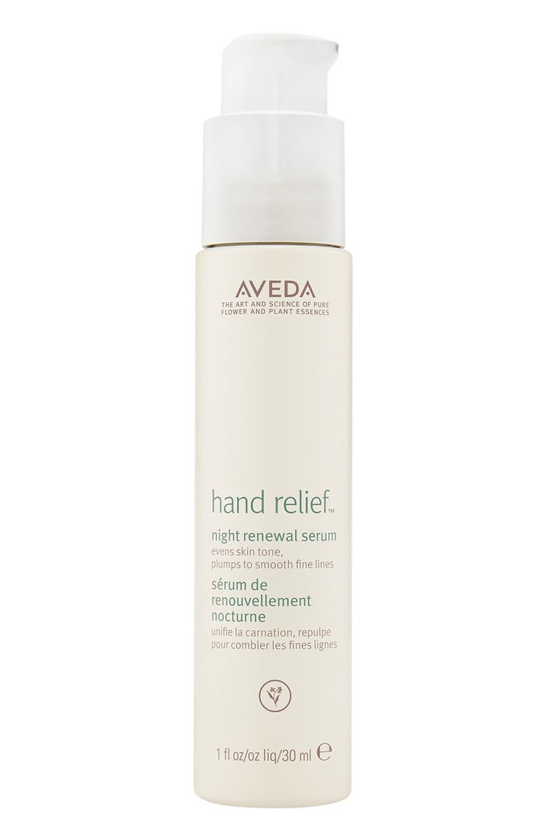 AVEDA hand relief<sup>™</sup> Night Renewal Serum, Main, color, NO COLOR