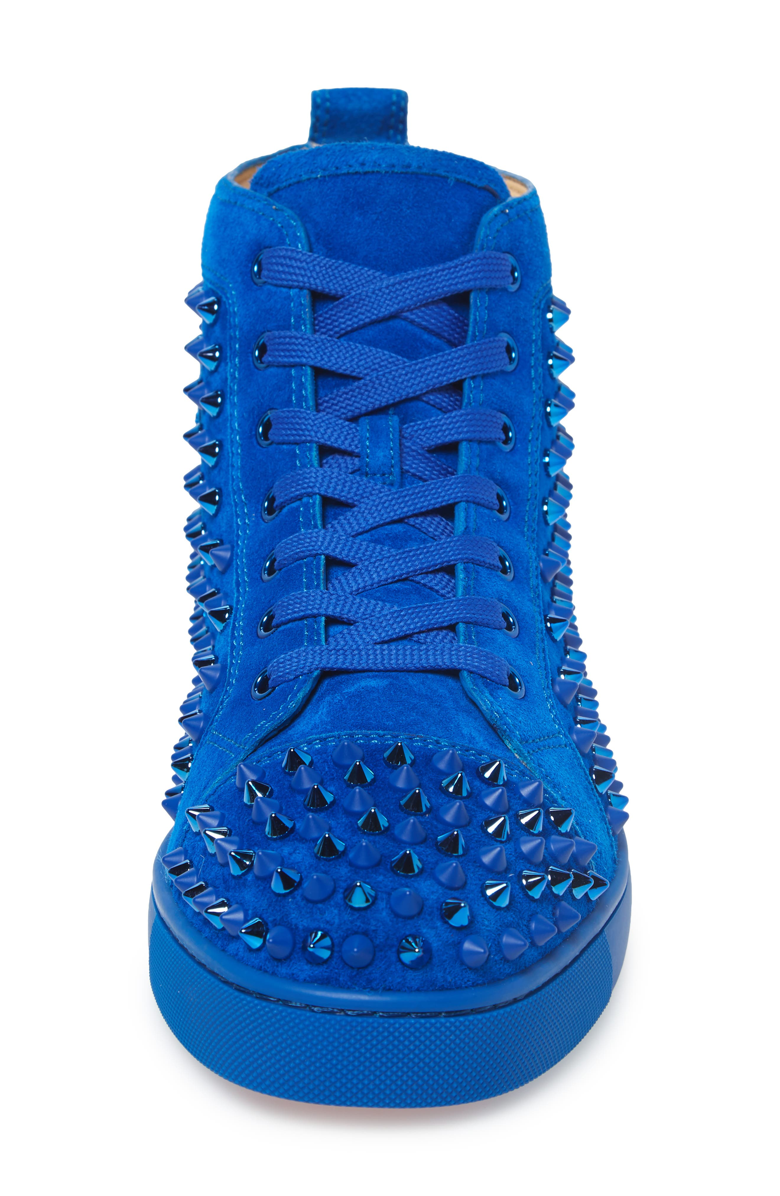,                             Louis Spikes High Top Sneaker,                             Alternate thumbnail 4, color,                             CYCLE/CYCLE MIX