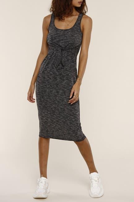 Image of Heartloom Leo Tie Waist Jersey Midi Dress