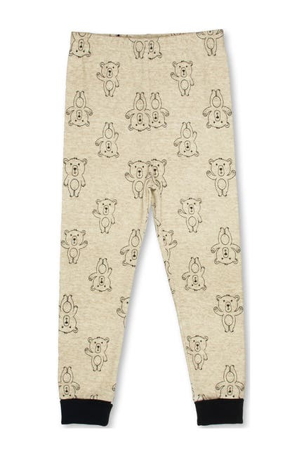 Image of SGI Apparel Free 2 Dream Bear Print Pajama 2-Piece Set