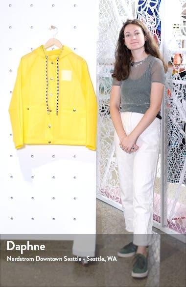 Proenza Schouler PSWL Care Label Graphic Raincoat, sales video thumbnail