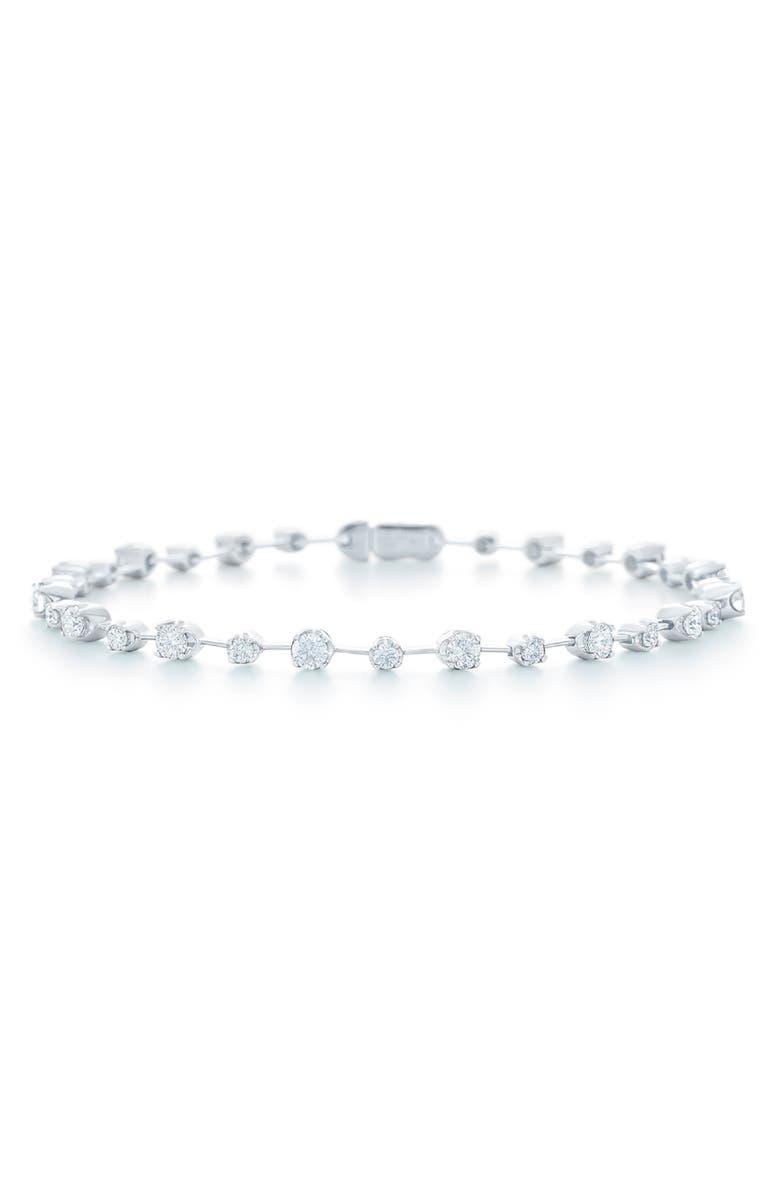KWIAT Starry Night Diamond Line Bracelet, Main, color, 711