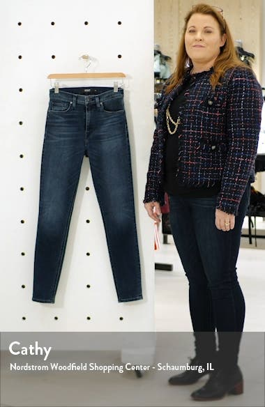 Barbara High Waist Ankle Super Skinny Jeans, sales video thumbnail