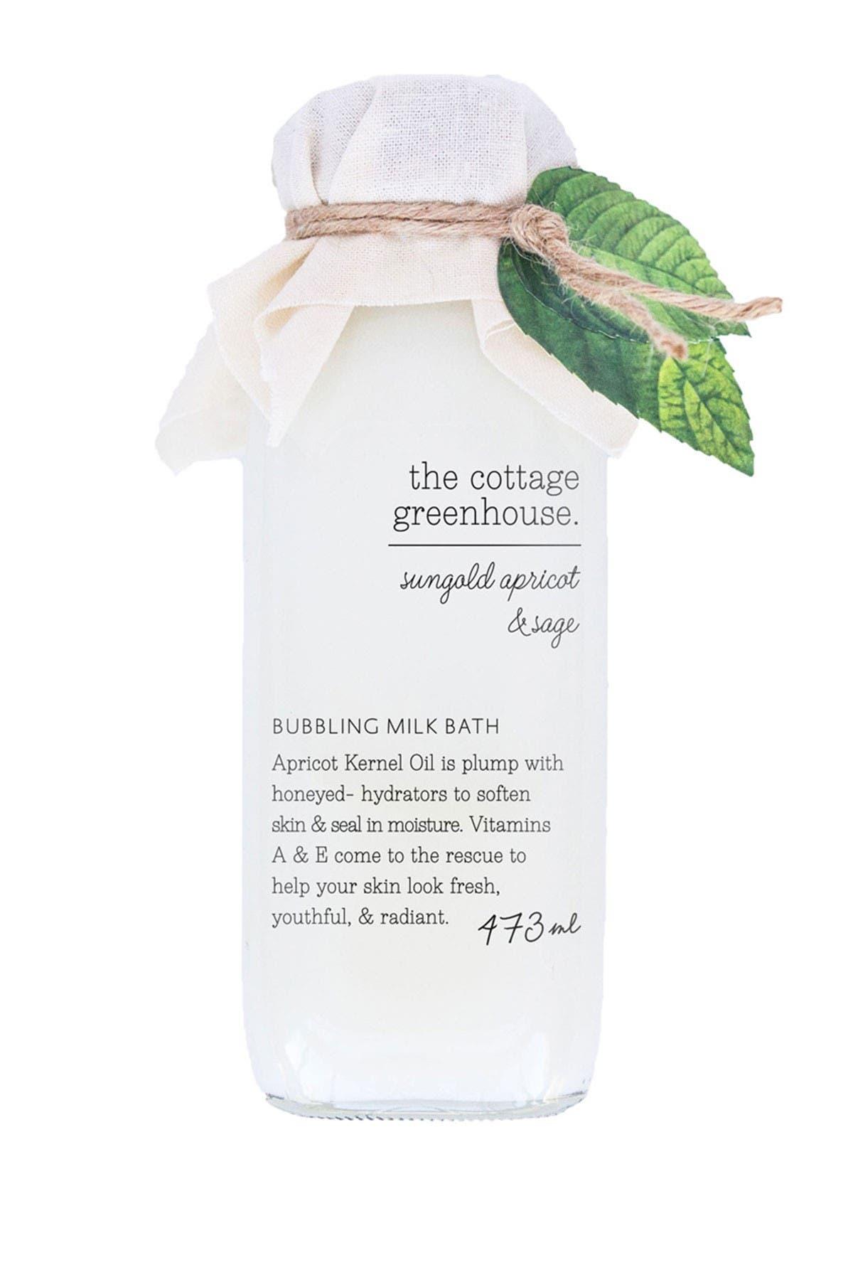 Image of TokyoMilk Sungold Apricot & Sage Bubbling Milk Bath