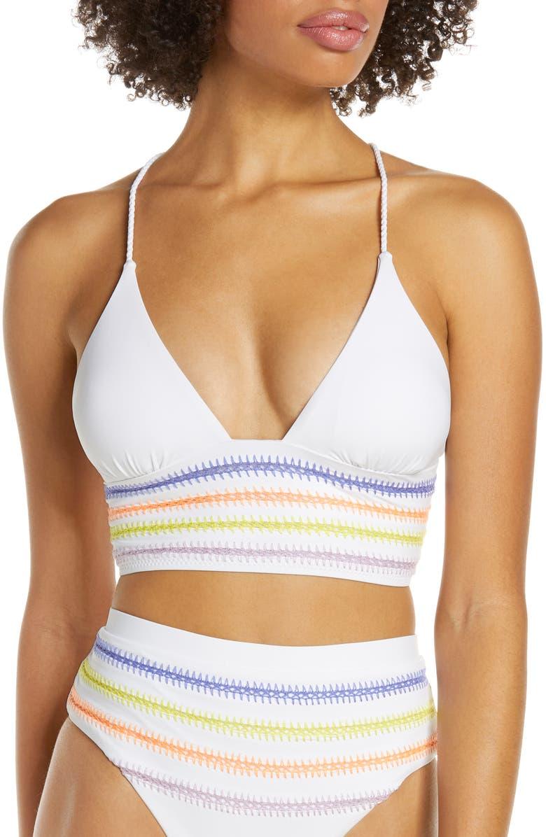 DOLCE VITA Kokomo Bikini Top, Main, color, WHITE