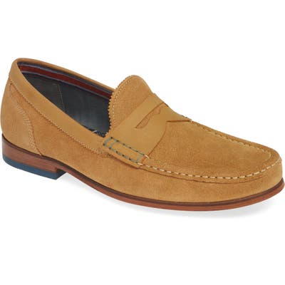 Ted Baker London Xapon Penny Loafer, Brown