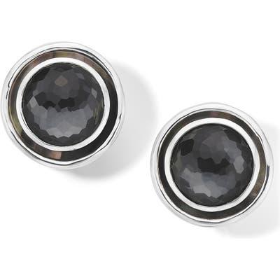 Ippolita Medium Rock Candy Circle Stud Clip Earrings