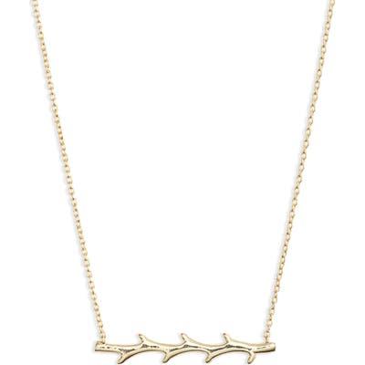 Argento Vivo X Dru. Thorn Pendant Necklace (Nordstrom Exclusive)