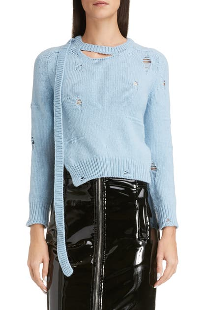 Marc Jacobs Sweaters THE WORN & TORN SWEATER