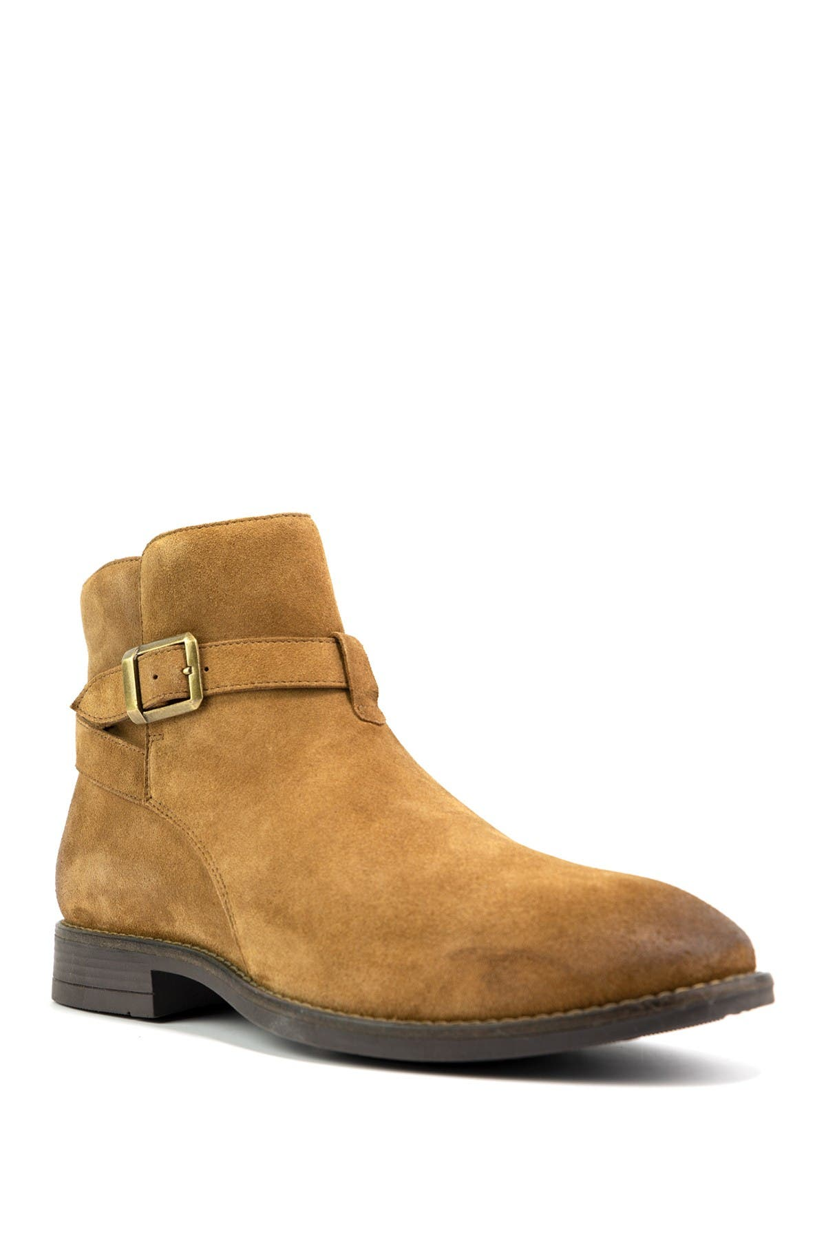 Image of Crevo Douglas Buckled Suede Boot