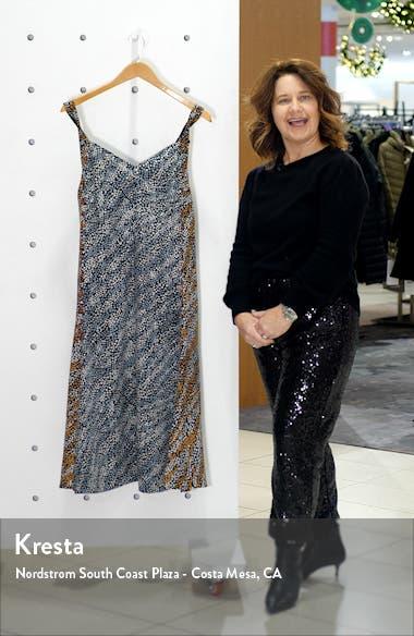 Colette Twist Strap Silk Dress, sales video thumbnail