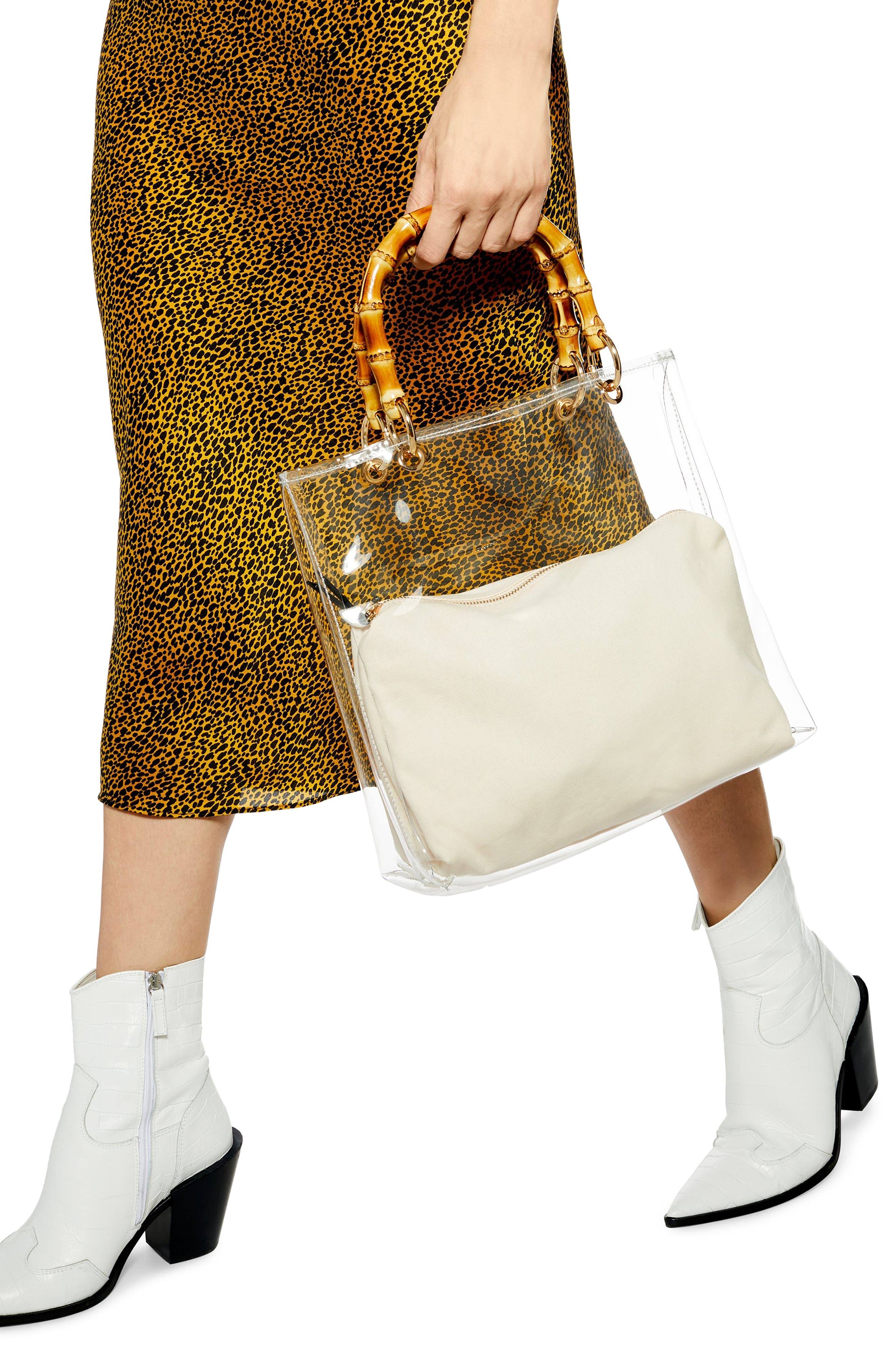 ,                             Mercy Top Handle Tote Bag,                             Alternate thumbnail 2, color,                             CLEAR