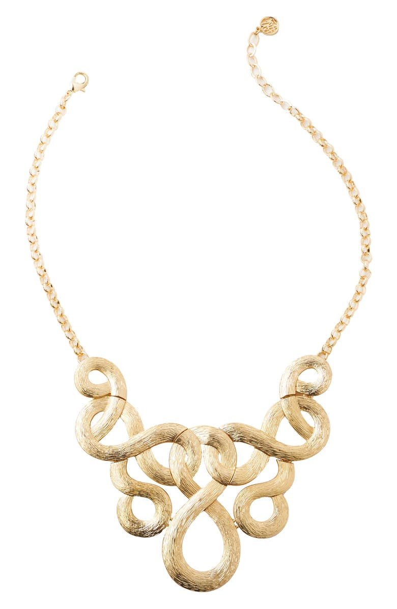 LILLY PULITZER<SUP>®</SUP> Fantasea Frontal Necklace, Main, color, 710