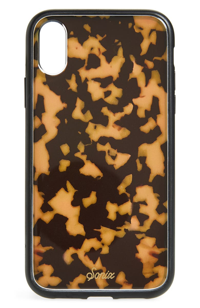 brown-tort-iphone-x_xs_xr-&-xs-max-case by sonix
