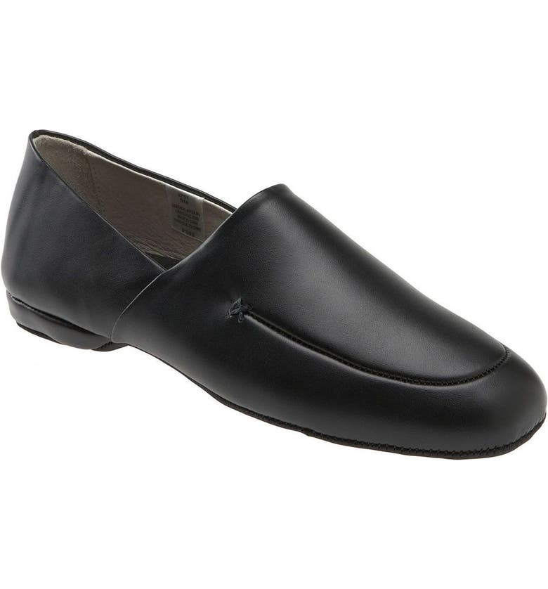 L.B. EVANS 'Duke Opera' Slipper, Main, color, Black