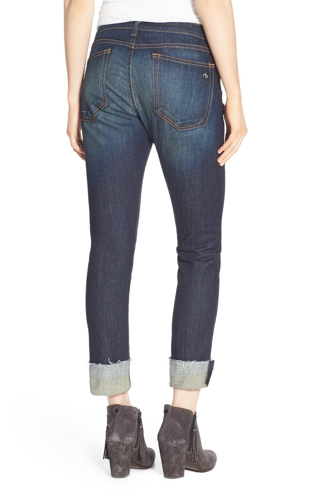 ,                             /JEAN 'The Dre' Slim Fit Boyfriend Jeans,                             Alternate thumbnail 2, color,                             402