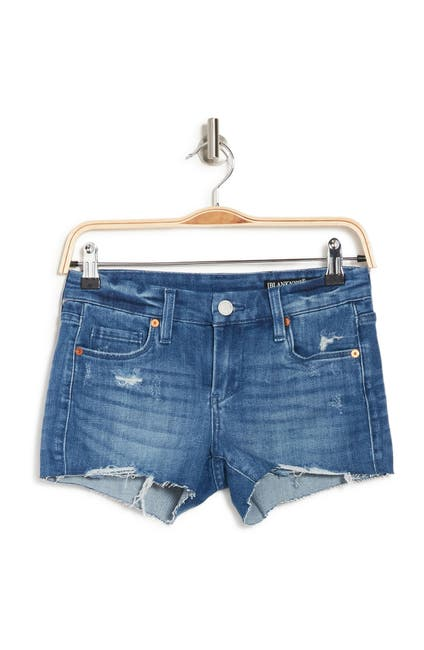 Image of BLANKNYC Denim Classic Stretch Cut Off Shorts