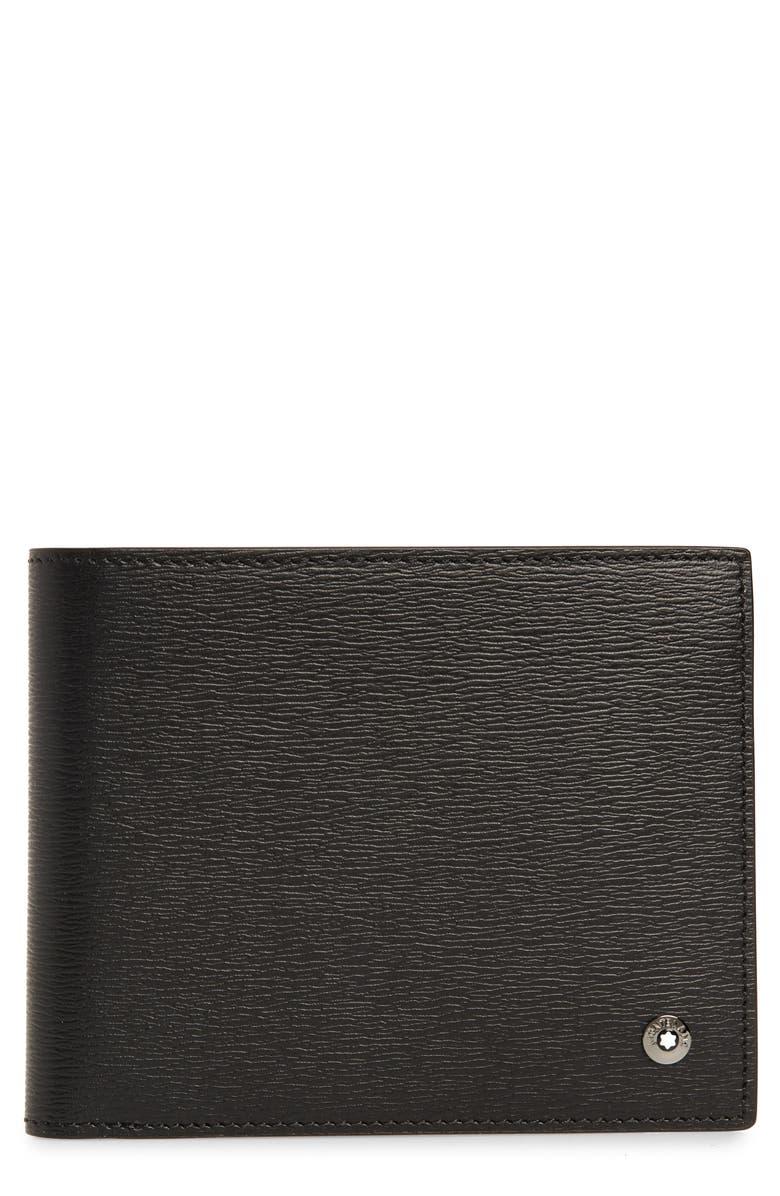 MONTBLANC 4810 Westside Leather Wallet, Main, color, 001