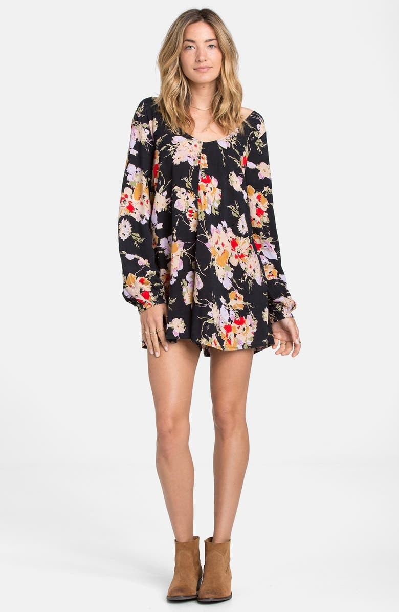 BILLABONG 'Secret Moons' Print Romper, Main, color, 003