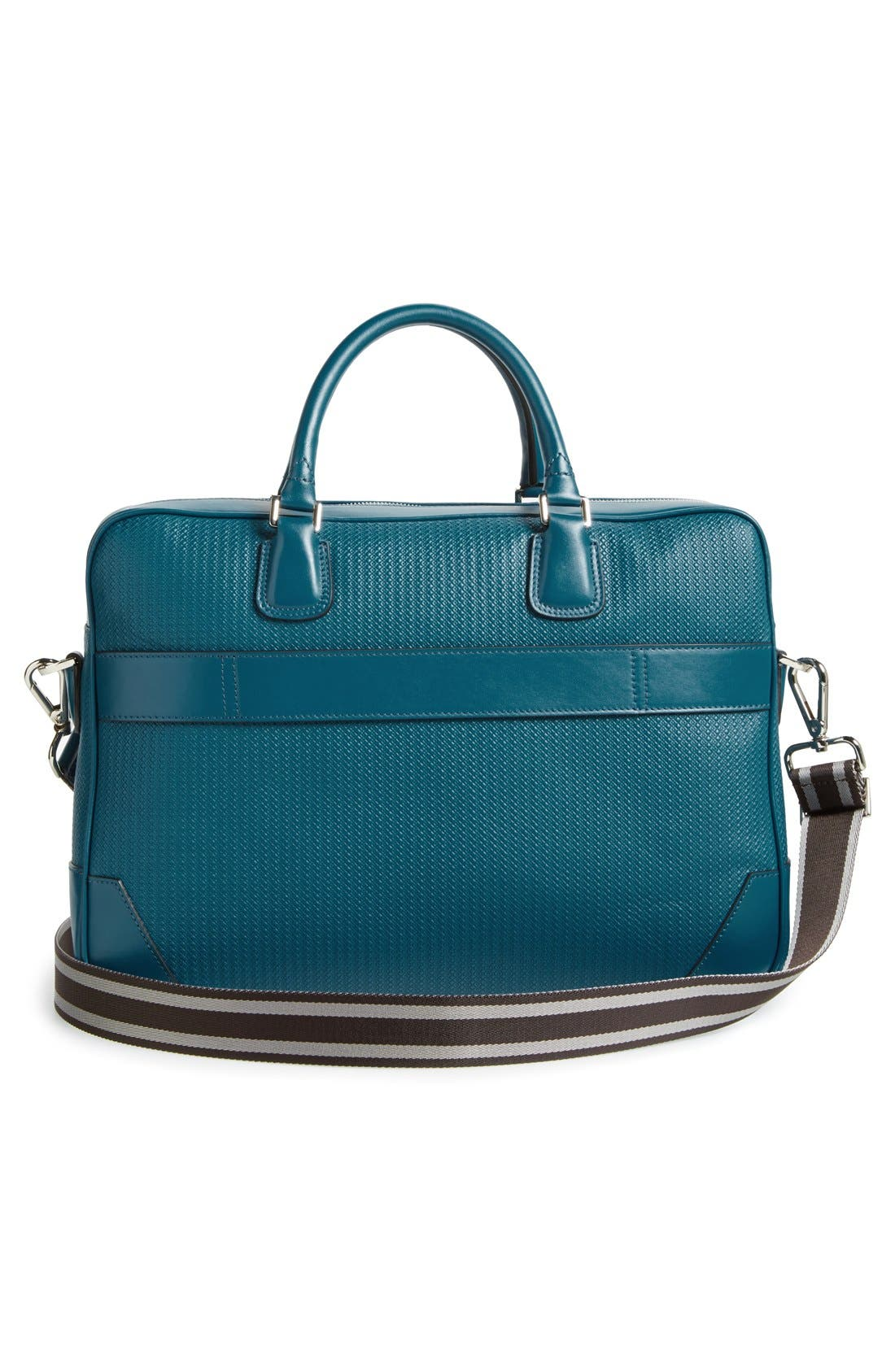 ,                             Leather Briefcase,                             Alternate thumbnail 3, color,                             400