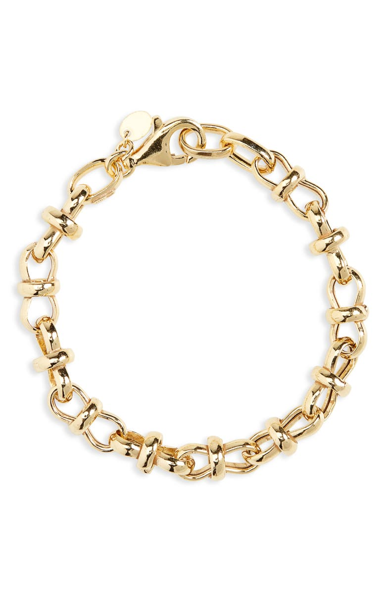 ARGENTO VIVO Chunky Chain Bracelet, Main, color, GOLD