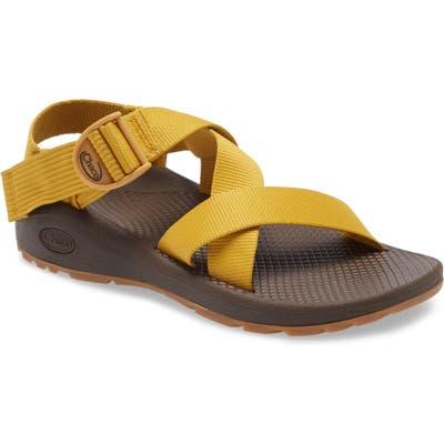 Chaco Mega Z/cloud Sport Sandal, Yellow