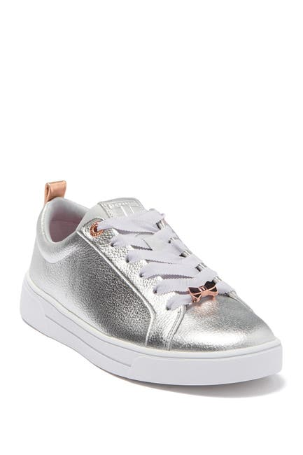 Image of Ted Baker London Gielli Metallic Leather Sneaker