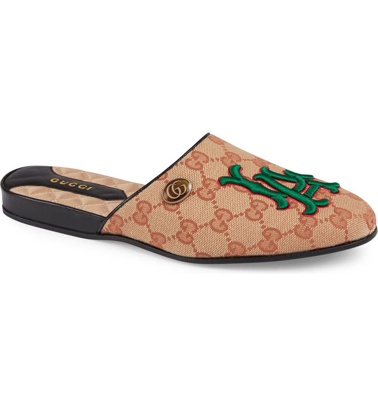 GUCCI LA Flamel Mule, Main, color, 250