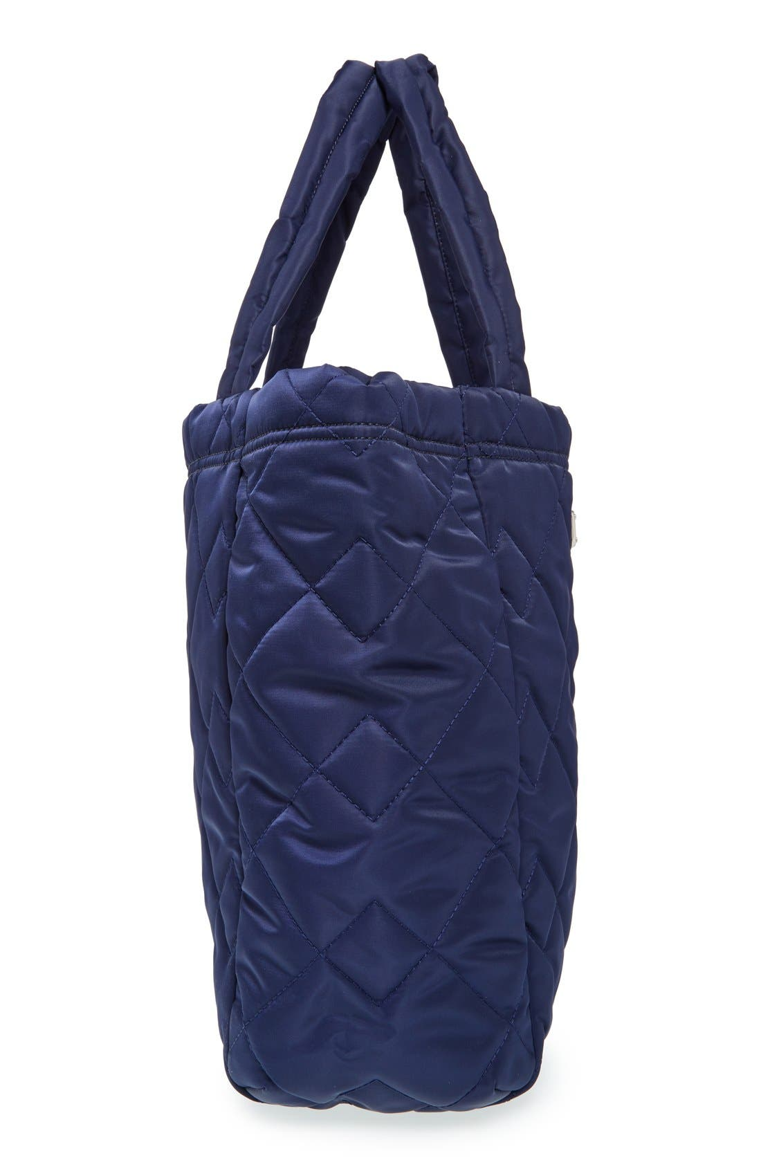 ,                             MARC BY MARC JACOBS 'Crosby' Quilted Nylon Tote,                             Alternate thumbnail 6, color,                             401