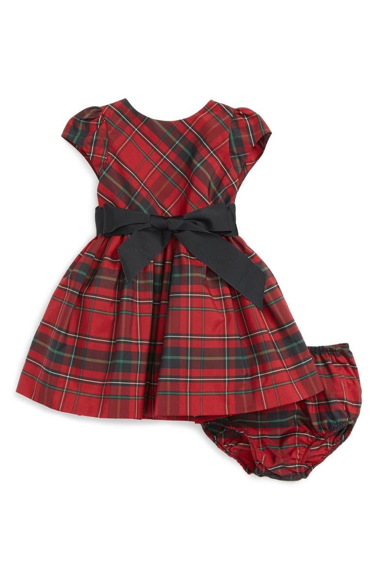 27e232a0 Tartan Plaid Taffeta Dress