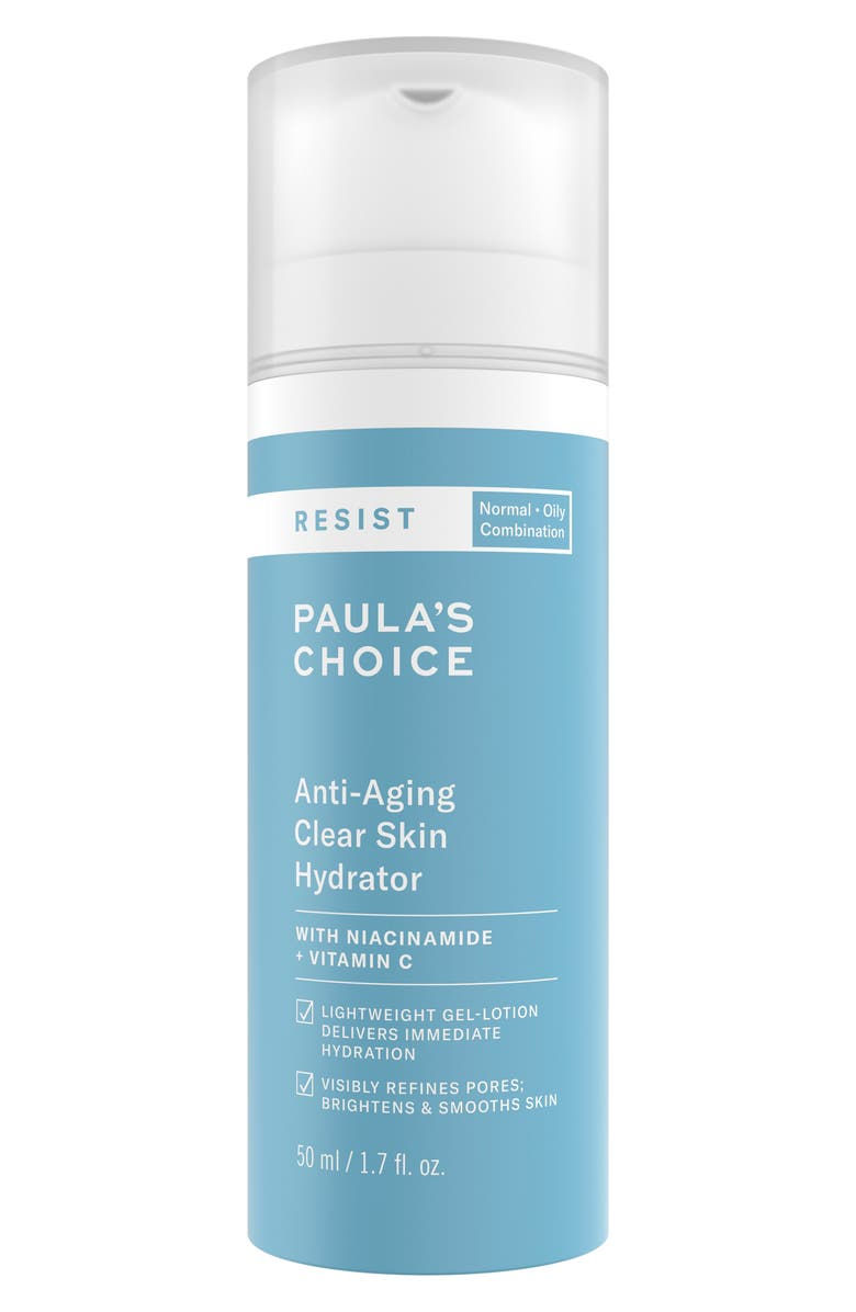 PAULA'S CHOICE Anti-Aging Clear Skin Hydrator Lotion, Main, color, NO COLOR