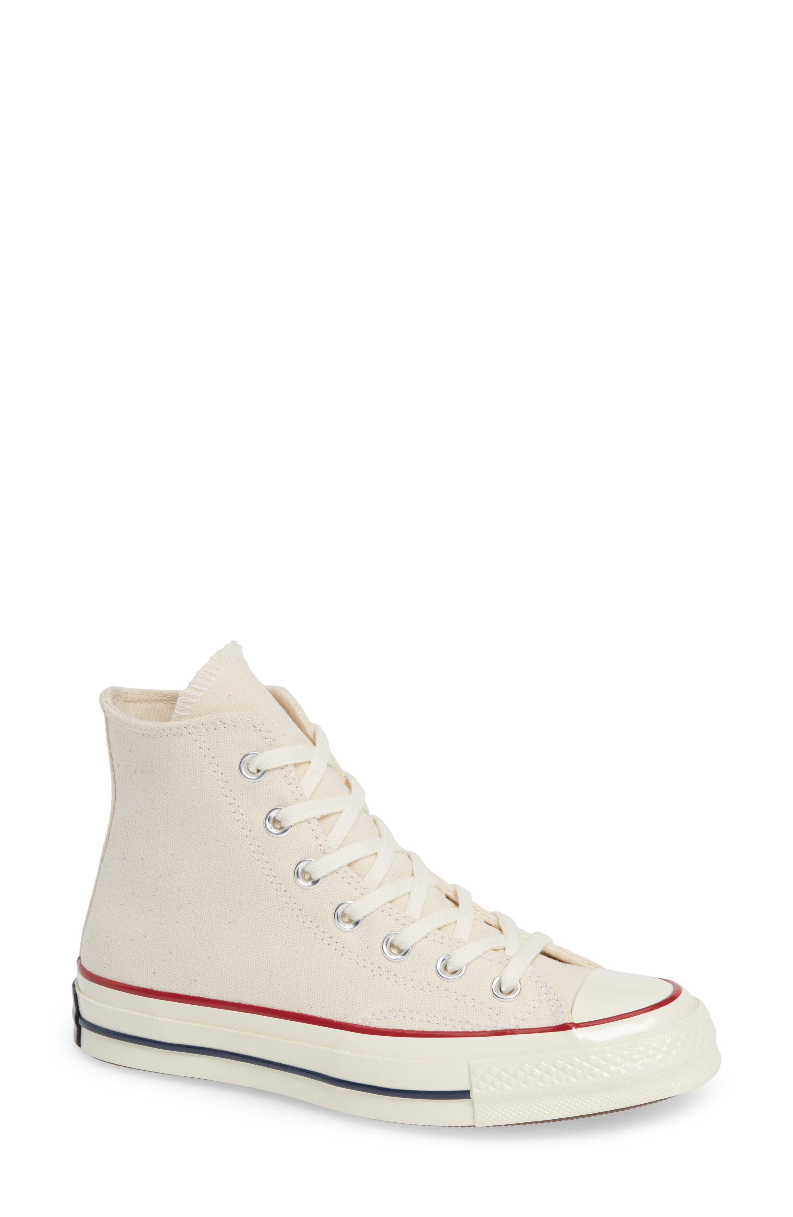 Converse Chuck Taylor All Star Chuck 70 High Top Sneaker, Ivory