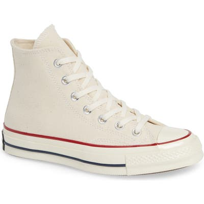Converse Chuck Taylor All Star Chuck 70 High Top Sneaker, Ivory