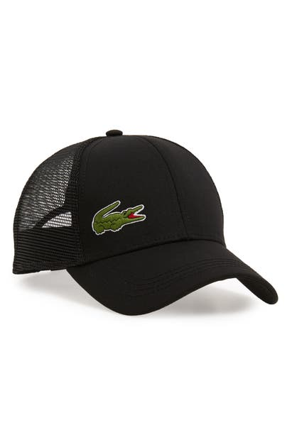 Lacoste Trucker Hat - Black