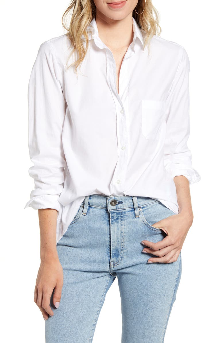 GRAYSON The Hero Cozy Cotton Shirt, Main, color, SOPHIA