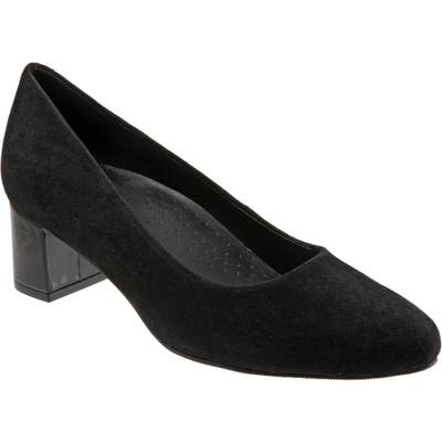 Trotters Kari Pointy Toe Pump, Black