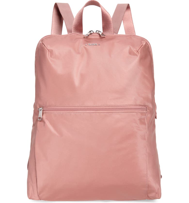 TUMI Voyageur - Just in Case Nylon Travel Backpack, Main, color, DUSTY ROSE