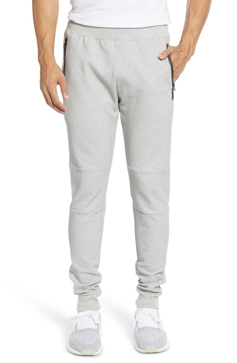 ALO Impel Sweatpants, Main, color, HEATHER GREY