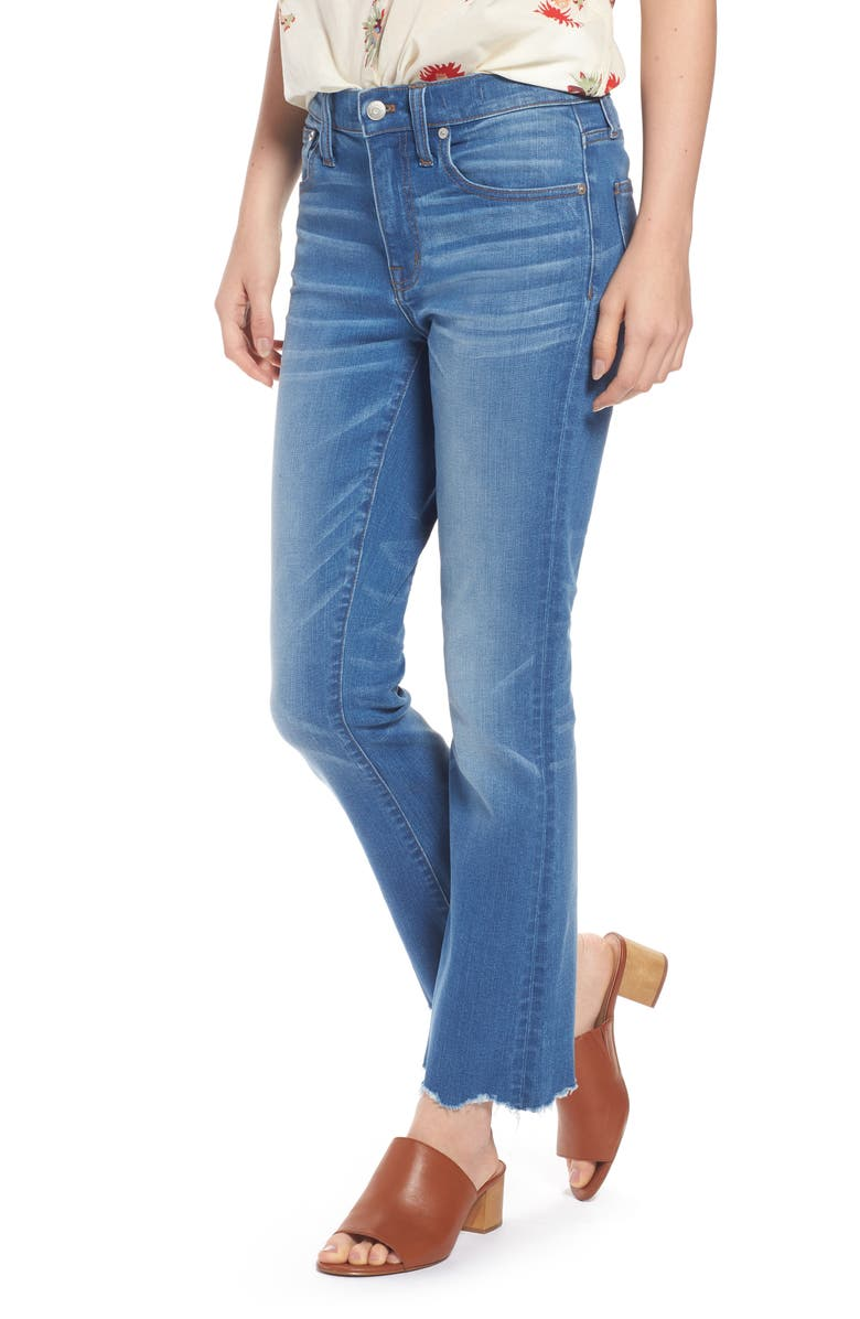 MADEWELL Cali Demi Boot Jeans, Main, color, 400