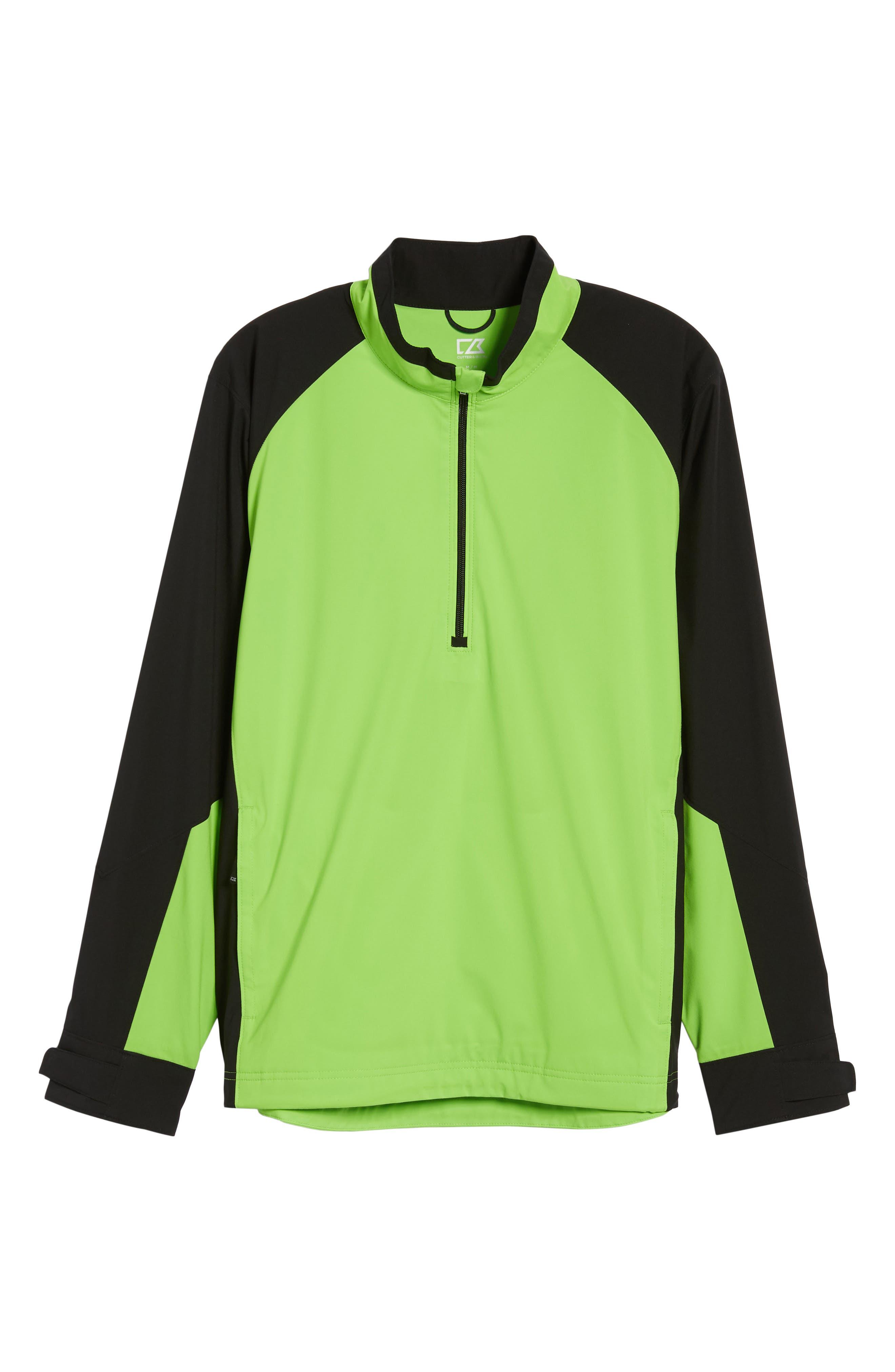 ,                             'Summit' WeatherTec Wind & Water Resistant Half Zip Jacket,                             Alternate thumbnail 6, color,                             321