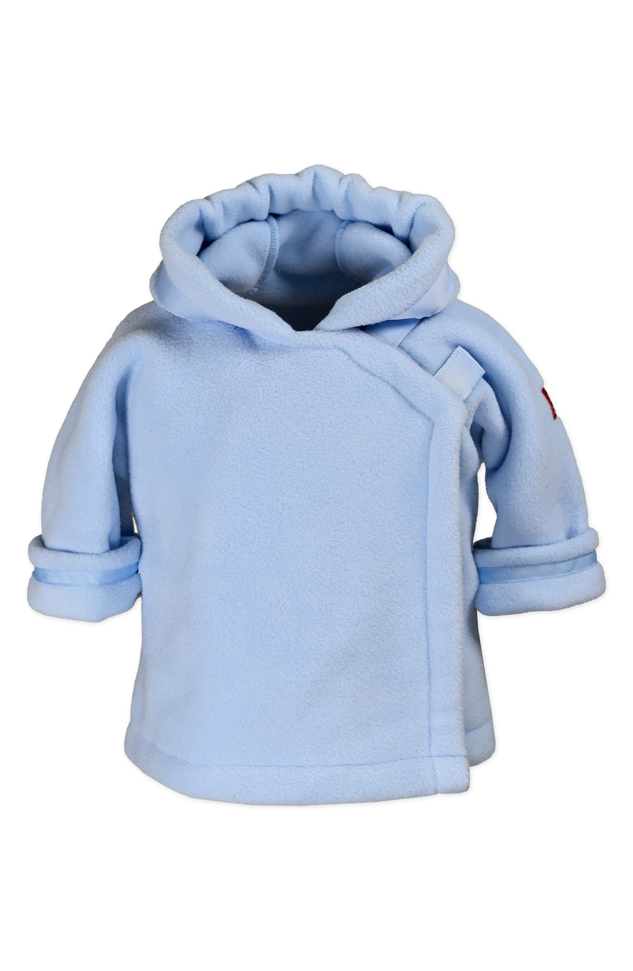 ,                             Warmplus Favorite Water Repellent Polartec<sup>®</sup> Fleece Jacket,                             Main thumbnail 1, color,                             LIGHT BLUE