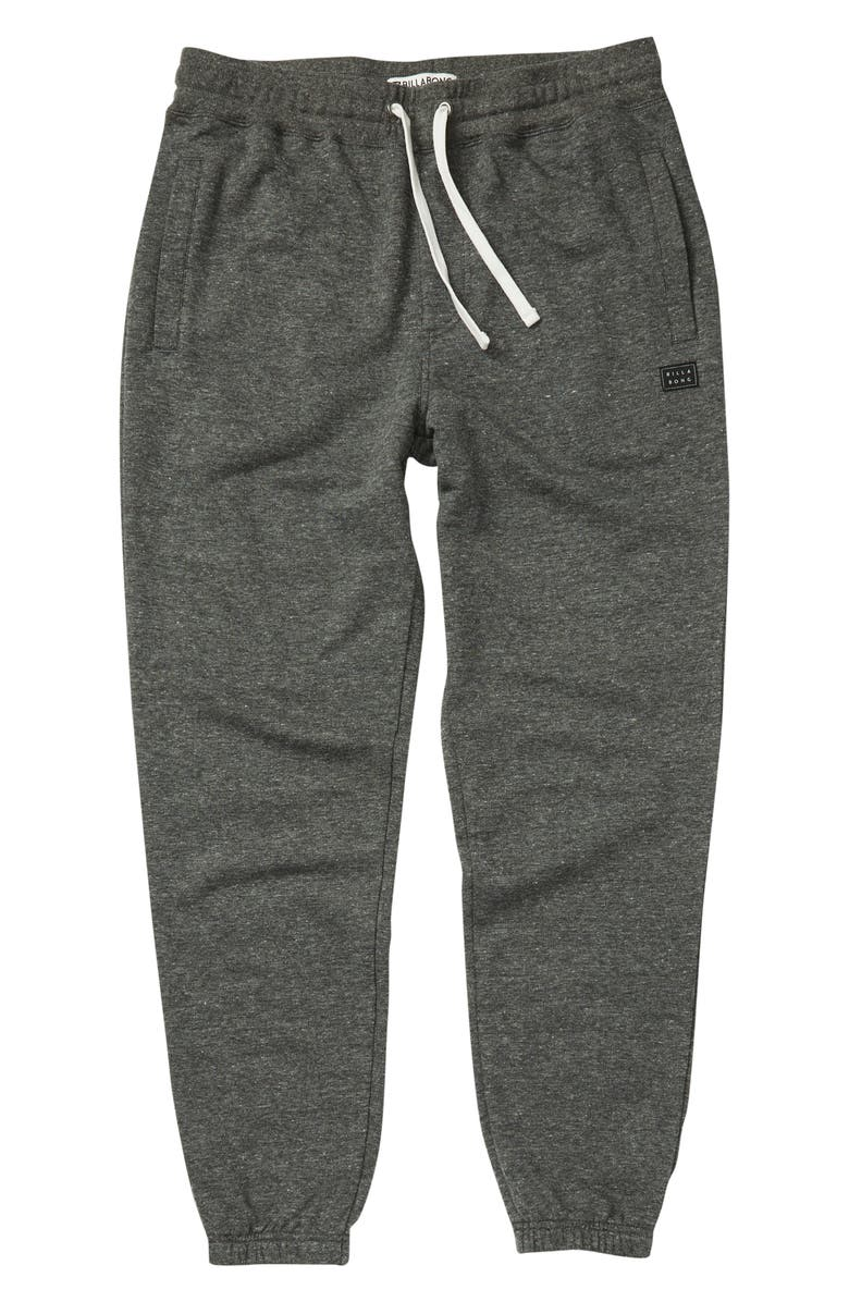 BILLABONG All Day Sweatpants, Main, color, BLACK