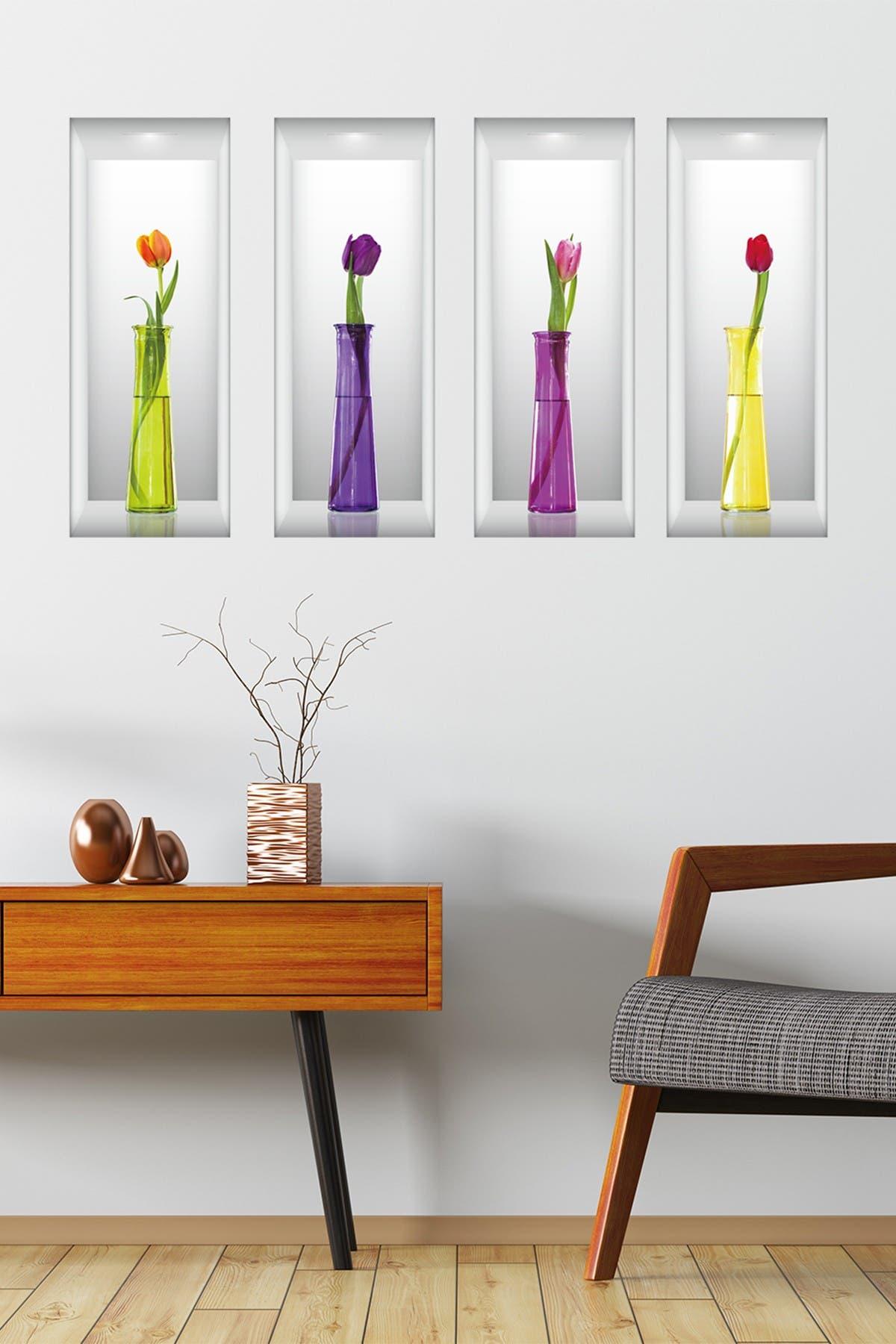 Image of WalPlus 3D Tulip Decal