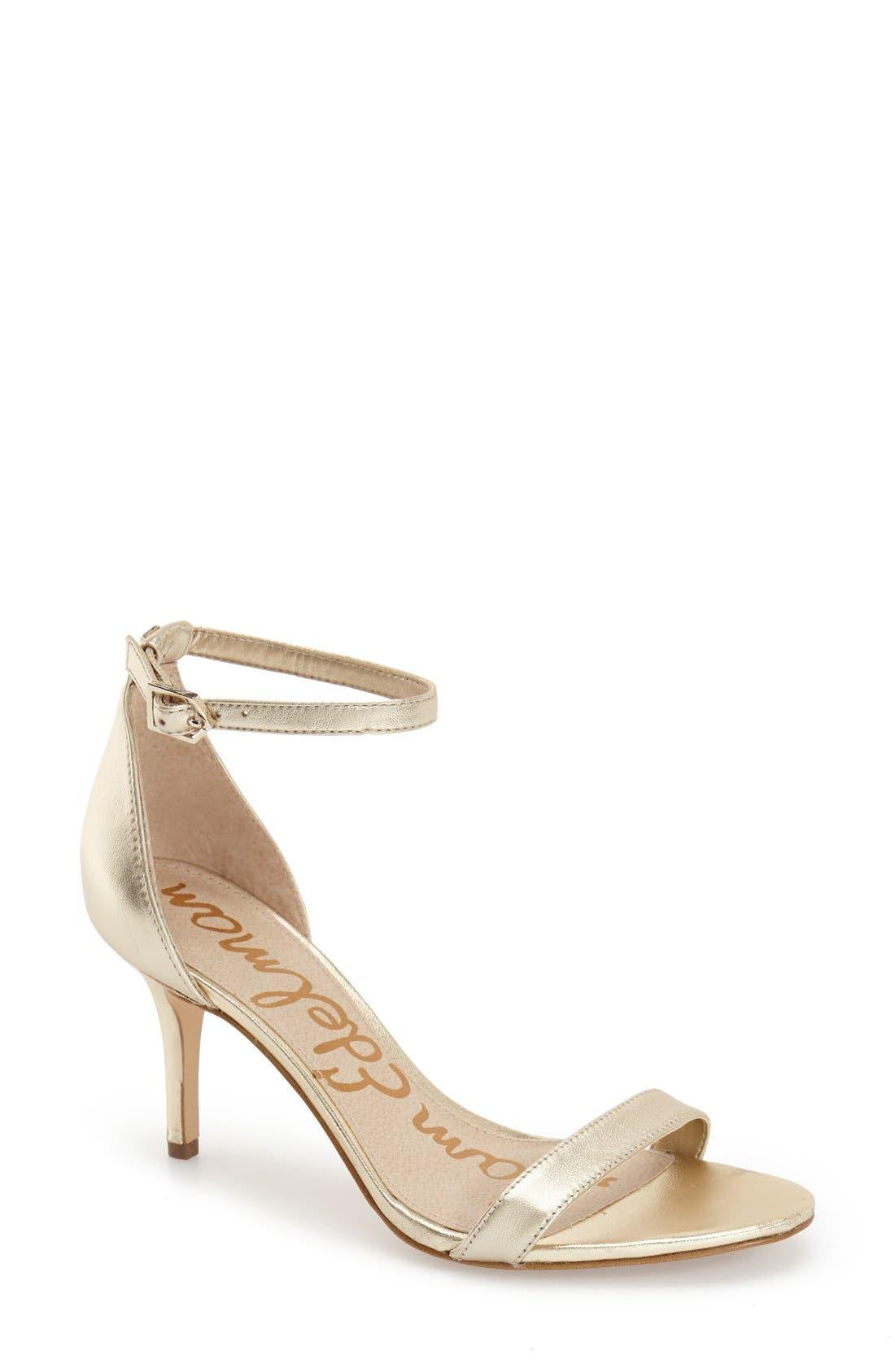 ,                             'Patti' Ankle Strap Sandal,                             Main thumbnail 208, color,                             900