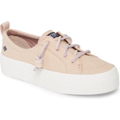 Sperry Crest Vibe Platform Sneaker, Pink