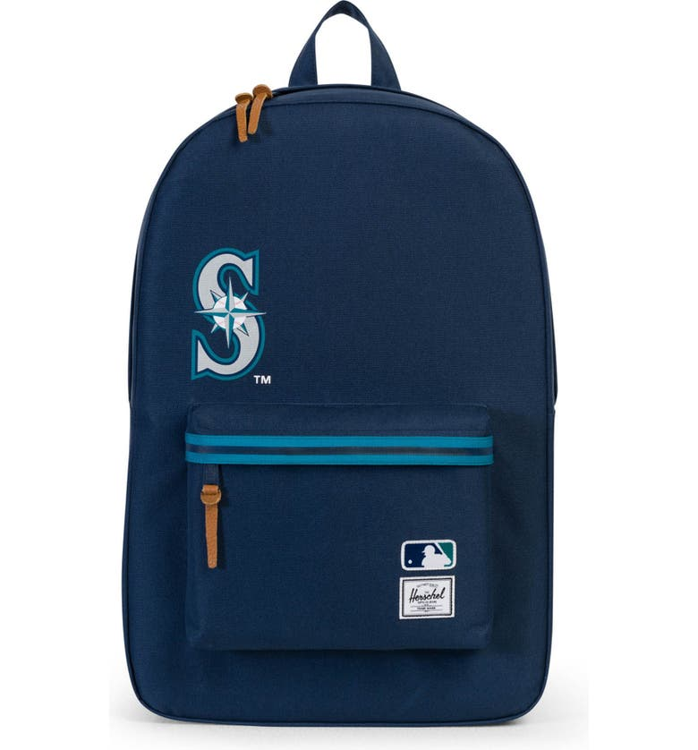 HERSCHEL SUPPLY CO. Heritage Seattle Mariners Backpack, Main, color, 477