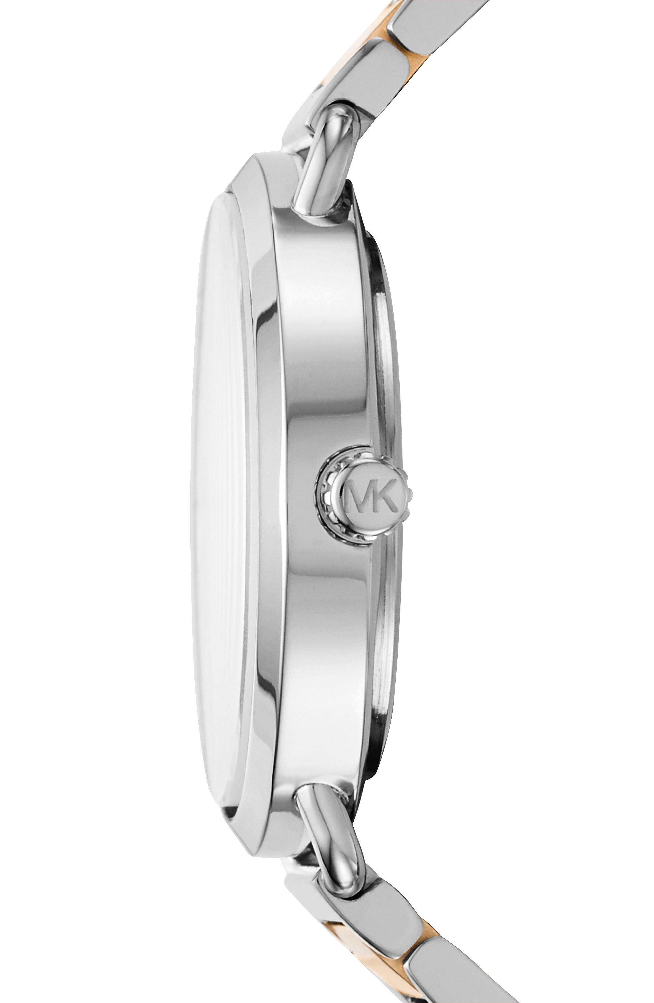 ,                             Portia Round Bracelet Watch, 36.5mm,                             Alternate thumbnail 4, color,                             041