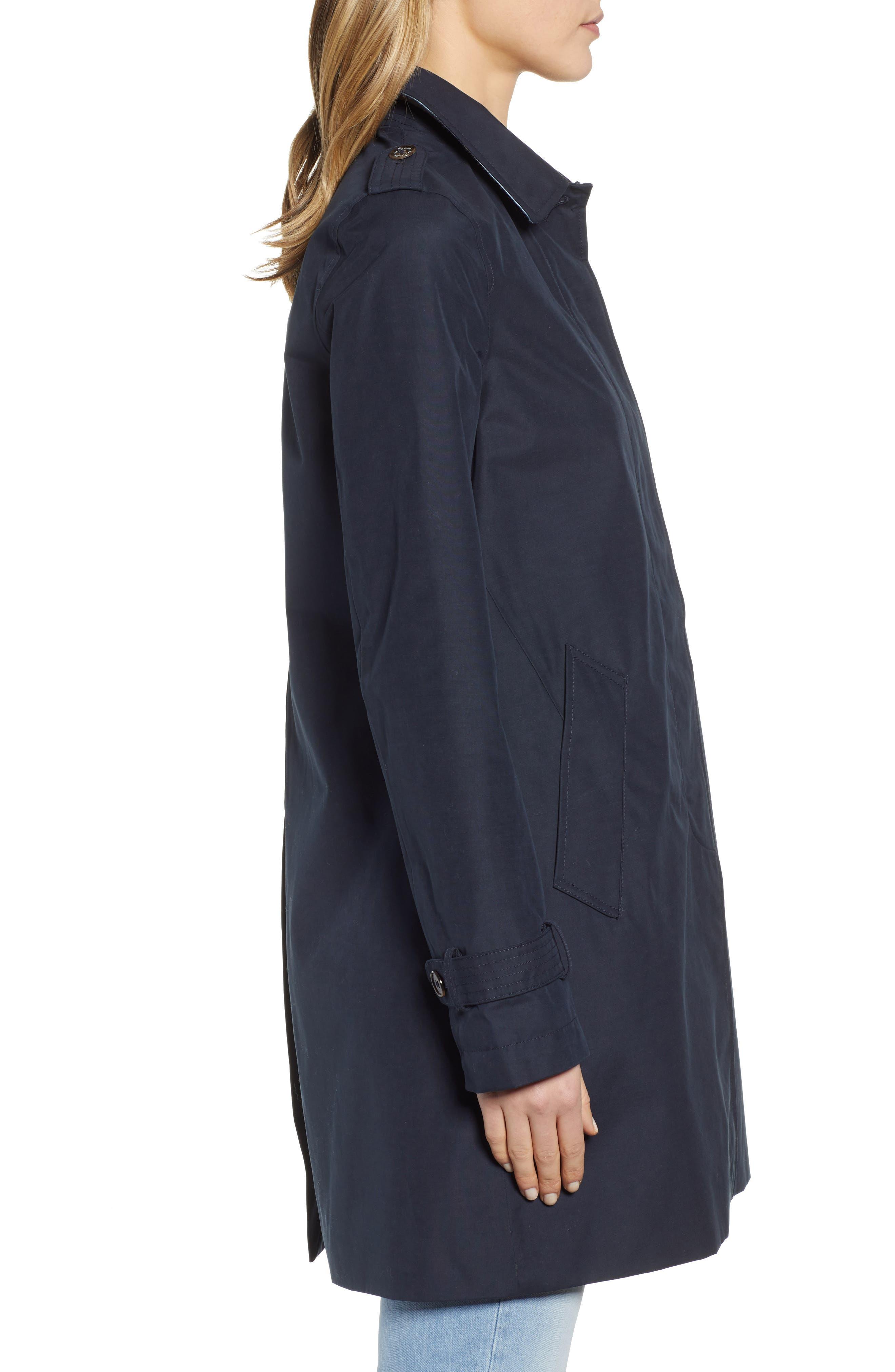 ,                             Laggan Waterproof Raincoat,                             Alternate thumbnail 4, color,                             NAVY